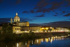 Сан Frediano в церков Cestello Стоковые Фото