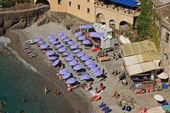 Сан Fruttuoso, между Golfo Paradiso и Golfo del Tigullio стоковая фотография