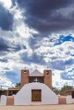 Сан Geronimo de Taos Церковь Стоковая Фотография