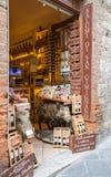 Сан Gimignano_ Тоскана, Италия Стоковое Фото