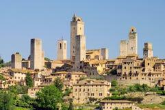 Сан Gimignano Стоковое фото RF