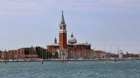Сан Giorgio Maggiore в Венеции, Италии стоковые фото