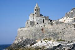 Сан Pietro на подсказке portovenere Стоковое Изображение RF