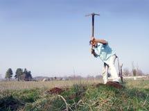 сапка садовника Стоковая Фотография