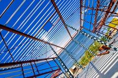 сараи конструкции промышленные Стоковые Фото