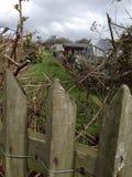 Сараи сада в уделении Стоковая Фотография