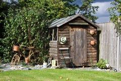 сарай деревянный Стоковое Изображение