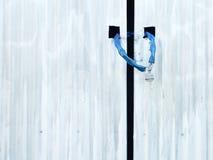 сарай замка двери старый Стоковое Изображение RF