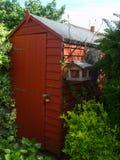 сарай сада стоковые фотографии rf