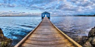 Сарай шлюпки Crawley, Перт, западная Австралия Стоковая Фотография RF