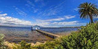 Сарай шлюпки Crawley, Перт, западная Австралия Стоковые Фото