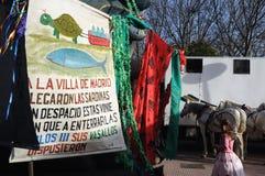 сардина Испания madrid масленицы захоронения Стоковое Изображение