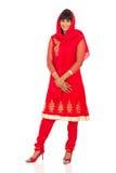 Сари женщины традиционное Стоковая Фотография RF