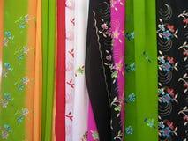 сари ткани Стоковые Изображения