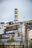 Саркофаг атомной электростанции Чернобыль Стоковое фото RF