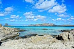 Сардиния, Италия стоковая фотография rf
