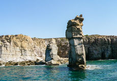 Сардиния Прибрежные ландшафты Стоковая Фотография RF