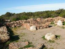 Сардиния Carbonia Monte Sirai Стоковое Изображение RF