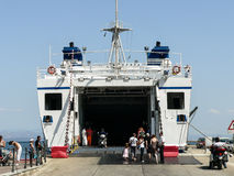 Сардиния carloforte ferryboat Стоковое Изображение RF