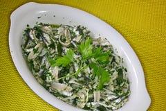 Сардины, marinated с маслом, стоковая фотография rf
