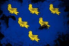 Сассекс ржавое и иллюстрация флага grunge бесплатная иллюстрация