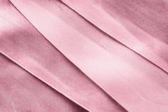 сатинировка предпосылки розовая Стоковое Фото