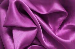 Сатинировка текстуры розовая, шелк Стоковое Изображение RF
