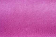 сатинировка ткани розовая Стоковое Фото