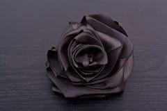 сатинировка черноты розовая Стоковое Фото