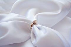 сатин кольца перлы brilliants стоковые изображения