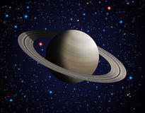 Сатурн Стоковое Изображение