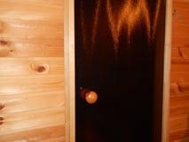 Сауна ванны steamied в деревянном Стоковое Фото