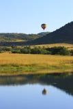 сафари воздушного шара Стоковые Изображения