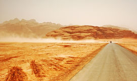 сафари Иордана 01 пустыни Стоковое Фото