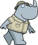 сафари носорога Стоковая Фотография RF