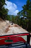 сафари -дорог в дороге гор Стоковое фото RF
