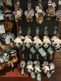 Сафари Сингапур реки Keychains панды Стоковое Изображение RF