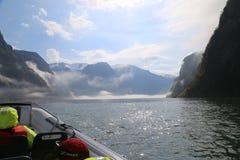 Сафари фьорда в Flam, Норвегии Стоковое Фото