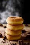 сахар застекленный donuts Стоковые Фото