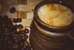 сахар ингридиентов кофе циннамона шоколада cardamon фасолей ароматности анисовки Стоковое Изображение