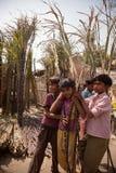 сахар индейца детей тросточки Стоковые Изображения RF