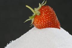сахар клубники Стоковые Изображения RF