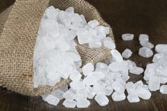 Сахар конфеты в сумке Стоковые Изображения RF
