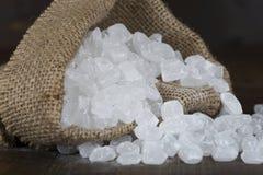 Сахар конфеты в сумке Стоковое Фото