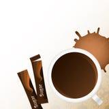 сахар кофейной чашки Стоковая Фотография RF
