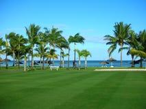 сахар курорта Маврикия пляжа Стоковое Изображение