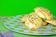 сахар пасхи печений Стоковые Изображения