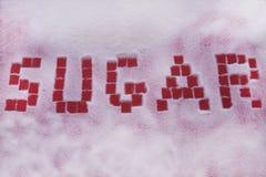 сахар раздробленный конфетой уточненный Стоковые Изображения RF