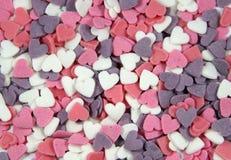 сахар сердец Стоковое фото RF