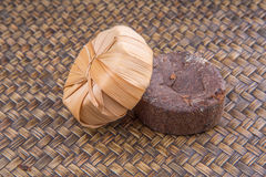 Сахар сока ладони в сухой оболочке III листьев Стоковое Изображение